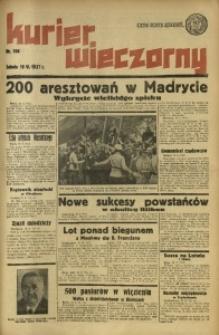Kurier Wieczorny, 1937, nr 166