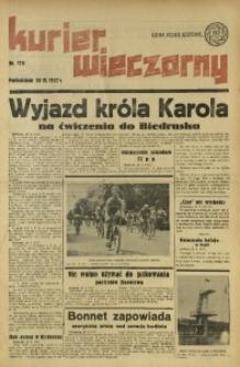 Kurier Wieczorny, 1937, nr 175
