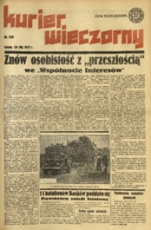 Kurier Wieczorny, 1937, nr 236