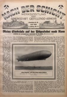 Nach der Schicht, 1931, Jg. 1, Nr. 4