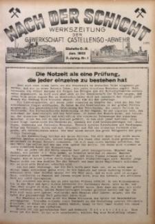 Nach der Schicht, 1932, Jg. 2, Nr. 1