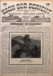 Nach der Schicht, 1932, Jg. 2, Nr. 7