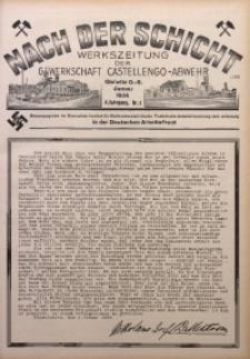Nach der Schicht, 1934, Jg. 4, Nr. 1