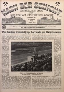 Nach der Schicht, 1937, Jg. 7, Nr. 22