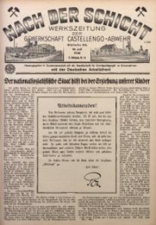Nach der Schicht, 1938, Jg. 8, Nr. 15