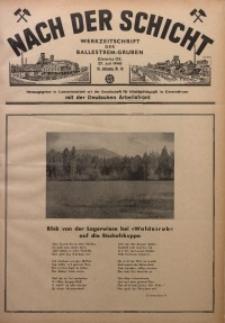 Nach der Schicht, 1940, Jg. 10, Nr. 10