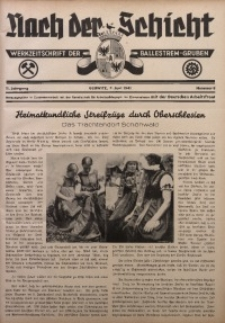 Nach der Schicht, 1941, Jg. 11, Nr. 8