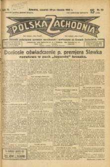 Polska Zachodnia, 1931, R. 6, nr 23