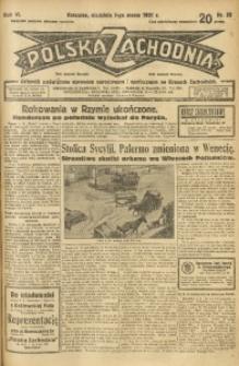 Polska Zachodnia, 1931, R. 6, nr 50