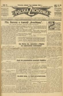 Polska Zachodnia, 1931, R. 6, nr 85