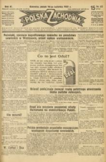 Polska Zachodnia, 1931, R. 6, nr 88
