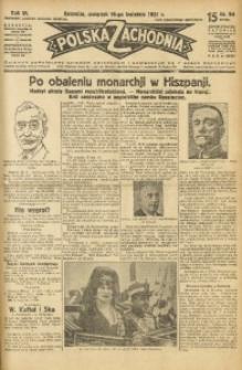 Polska Zachodnia, 1931, R. 6, nr 94