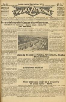 Polska Zachodnia, 1931, R. 6, nr 96