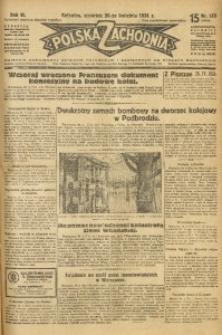 Polska Zachodnia, 1931, R. 6, nr 108