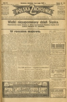 Polska Zachodnia, 1931, R. 6, nr 111