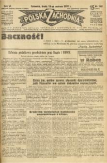Polska Zachodnia, 1931, R. 6, nr 148
