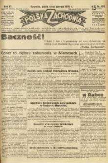 Polska Zachodnia, 1931, R. 6, nr 150