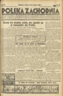 Polska Zachodnia, 1932, R. 7, nr 58