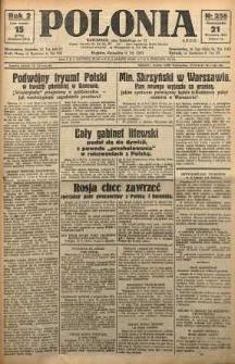 Polonia, 1925, R. 2, nr 256