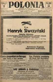 Polonia, 1925, R. 2, nr 260