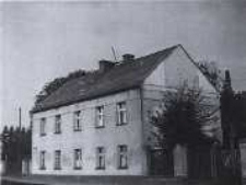 Głubczyce. Budynek przy ulicy I Armii Wojska Polskiego po 1960 r.