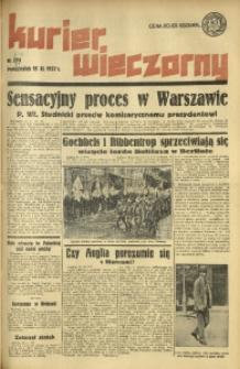 Kurier Wieczorny, 1937, nr 314