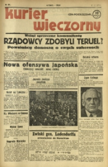 Kurier Wieczorny, 1937, nr 331 [właśc. 351]