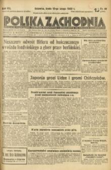 Polska Zachodnia, 1933, R. 8, nr 46