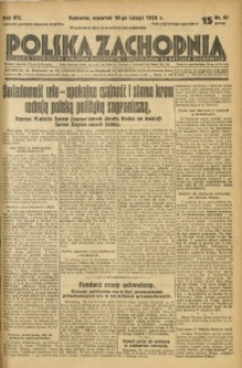 Polska Zachodnia, 1933, R. 8, nr 47