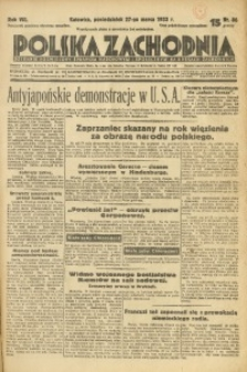 Polska Zachodnia, 1933, R. 8, nr 86