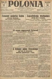 Polonia, 1925, R. 2, nr 275