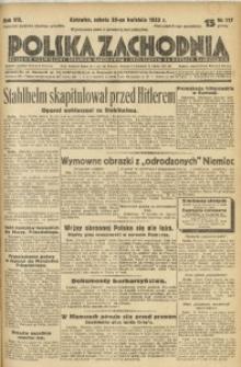 Polska Zachodnia, 1933, R. 8, nr 117