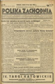 Polska Zachodnia, 1933, R. 8, nr 145