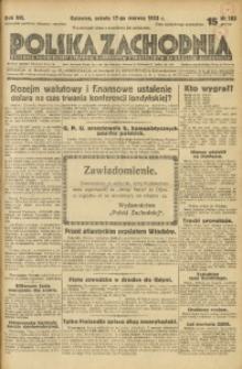 Polska Zachodnia, 1933, R. 8, nr 165