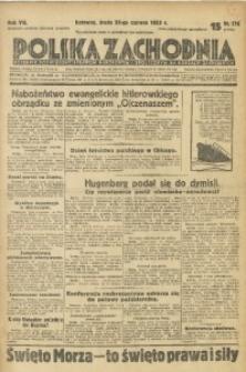 Polska Zachodnia, 1933, R. 8, nr 176