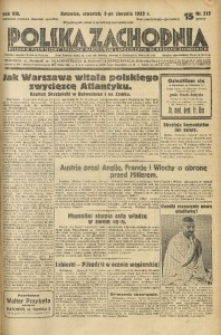 Polska Zachodnia, 1933, R. 8, nr 212