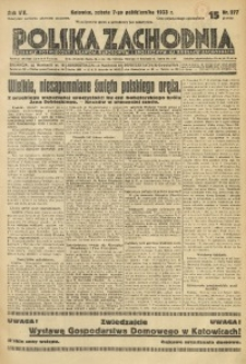 Polska Zachodnia, 1933, R. 8, nr 277