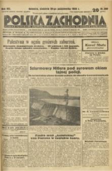 Polska Zachodnia, 1933, R. 8, nr 299