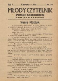 Młody Czytelnik Polski Zachodniej, 1928, R. 2, nr 20