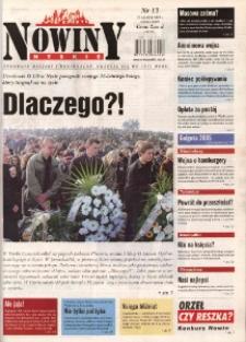 Nowiny Nyskie 2005, nr 13.