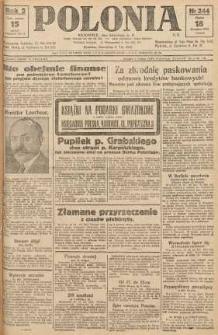 Polonia, 1925, R. 2, nr 344