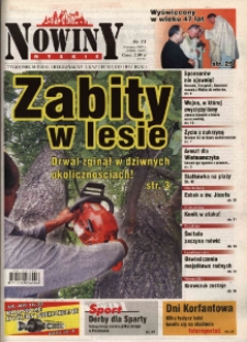 Nowiny Nyskie 2005, nr 33.