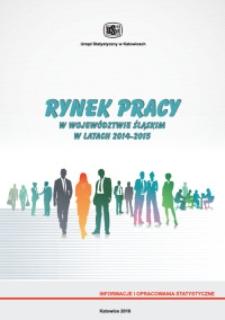 Rynek pracy w województwie śląskim w latach 2014-2015
