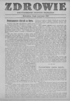 Zdrowie, 14 czerwca 1927