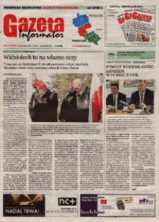 Gazeta Informator : pierwsza bezpłatna gazeta regionalna : Wodzisław Śląski. R. 12, nr 2 (229).