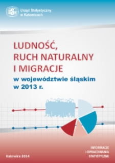 Ludność, ruch naturalny i migracje w województwie śląskim w 2013 r.