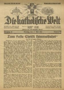 Die Katholische Welt, 1936, Jg. 12, Nr. 20
