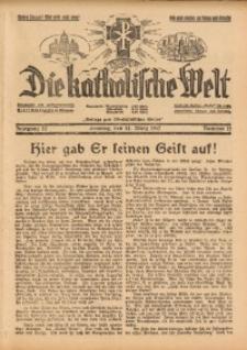 Die Katholische Welt, 1937, Jg. 13, Nr. 12
