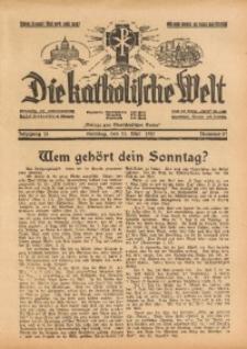 Die Katholische Welt, 1937, Jg. 13, Nr. 21