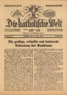 Die Katholische Welt, 1937, Jg. 13, Nr. 26